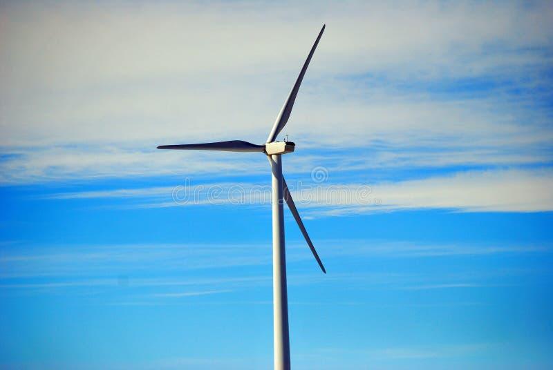 De machtsventilator van de wind royalty-vrije stock foto's