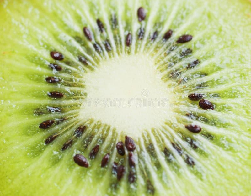 De macro van de kiwi royalty-vrije stock foto's