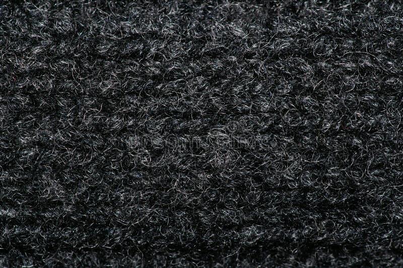 De Macro van de Stof van de wol stock foto's