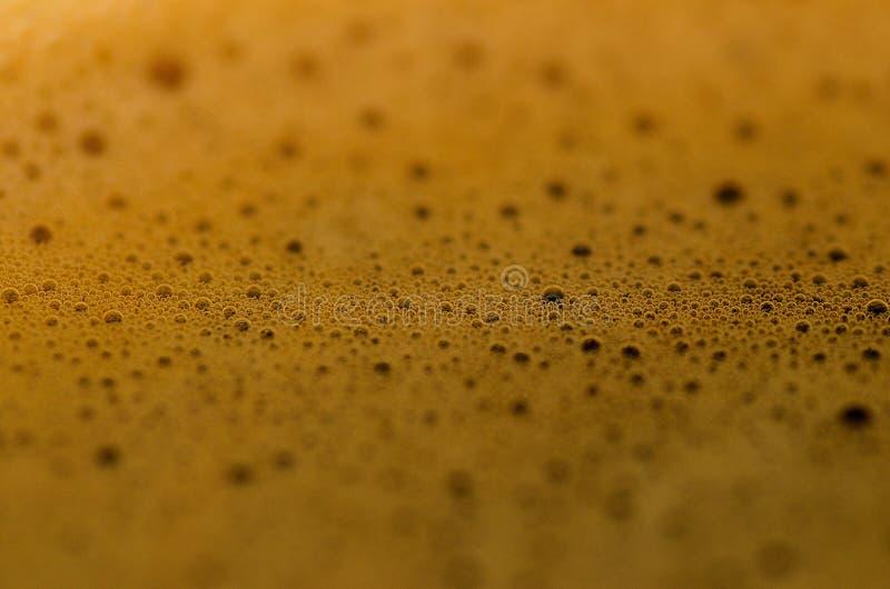 De macro van het koffieschuim royalty-vrije stock foto's