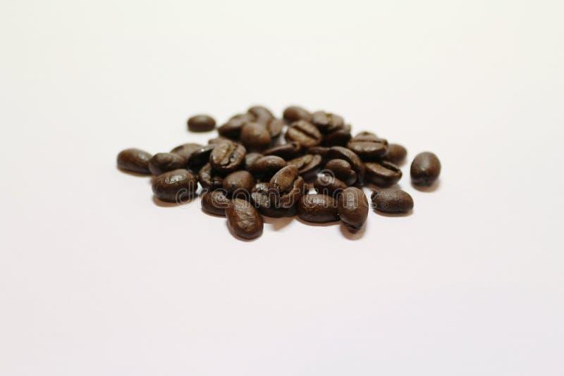 De Macro van koffiebonen stock foto's