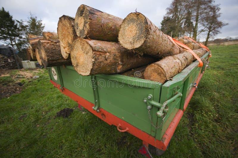 De madeira apronte para o transporte fotografia de stock