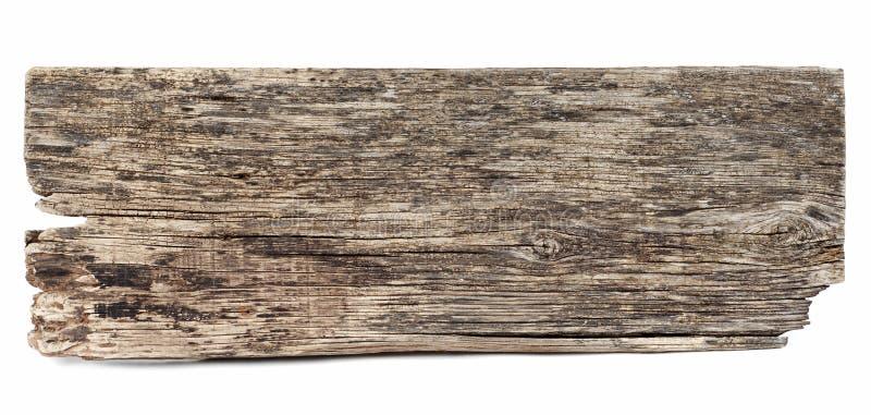 De madeira retangular velho imagem de stock