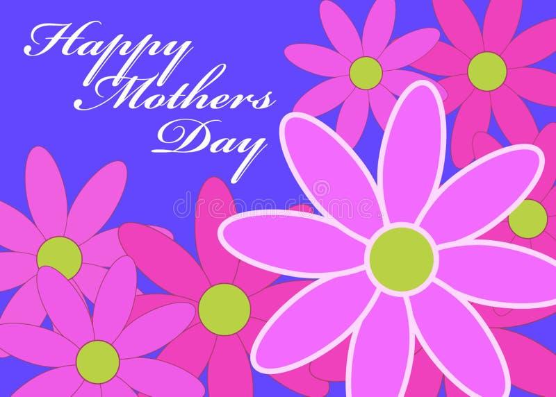 De Madeliefjes van de Dag van moeders stock illustratie