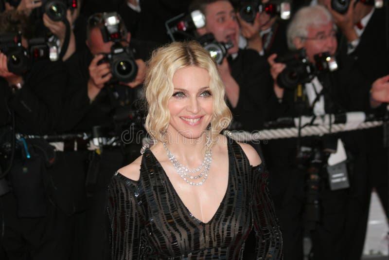 De Madonna van de zanger stock afbeeldingen