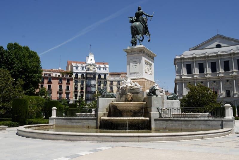 de Madrid oriente plac obrazy royalty free