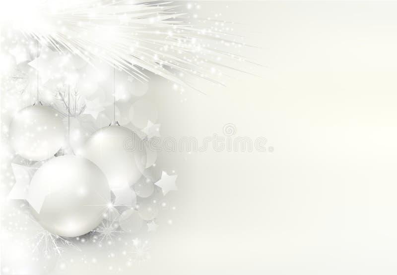 De magische Achtergrond van Kerstmis stock illustratie
