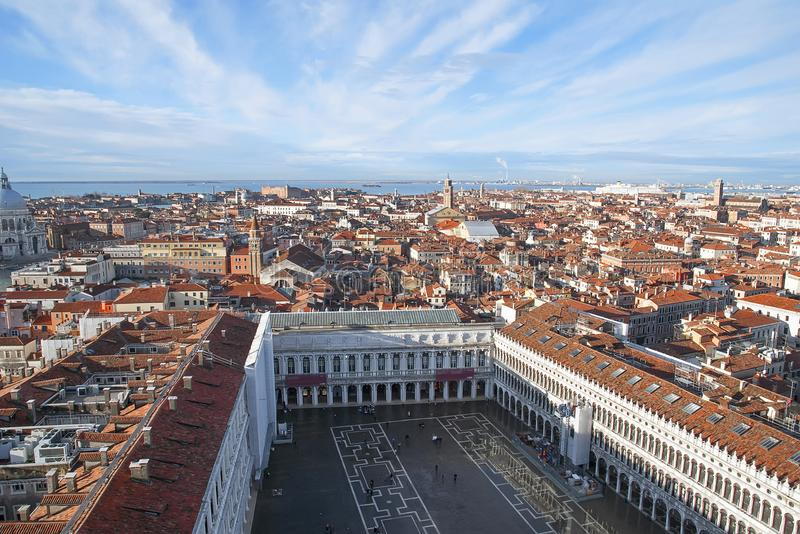 De magische mening van Venetië royalty-vrije stock foto