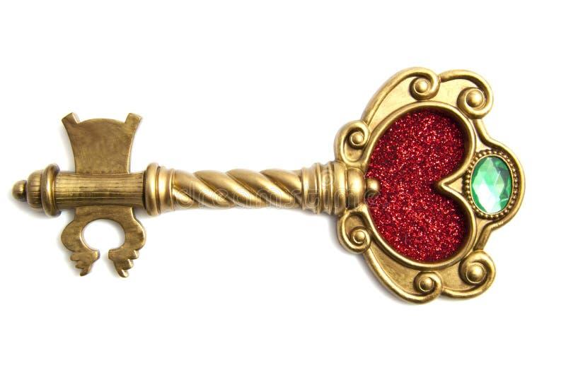 De magische sleutel royalty-vrije stock afbeelding
