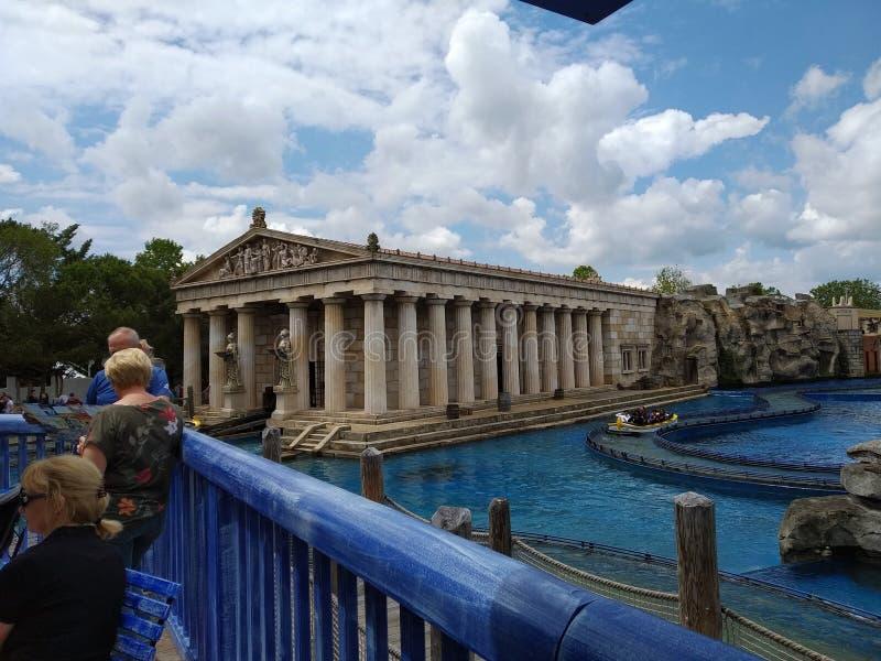 De magische wereld van Europa park, Roest, Duitsland royalty-vrije stock foto's