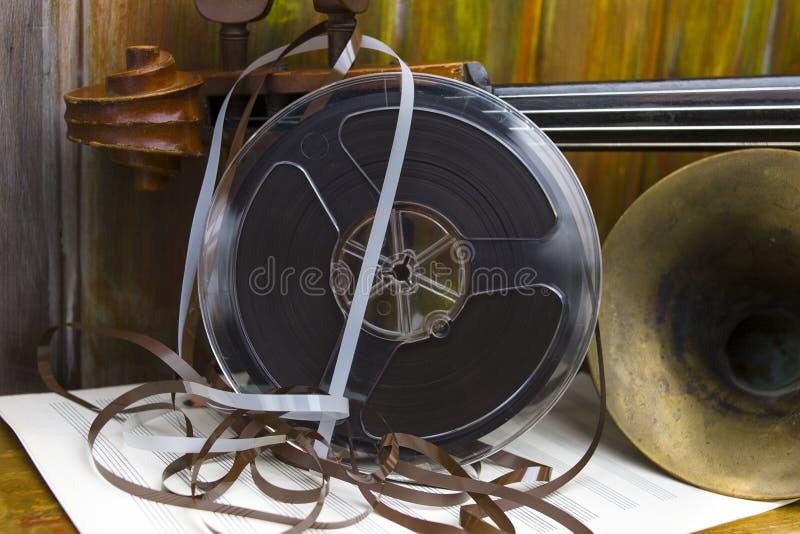 De magnetische Muzikale Instrumenten van TAnd royalty-vrije stock afbeeldingen