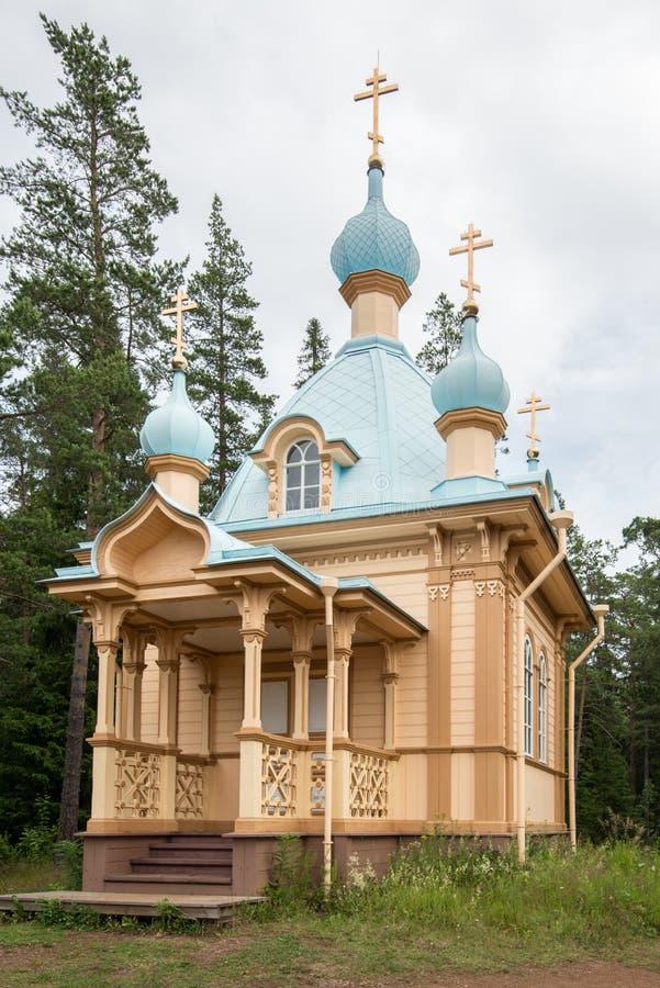 De majestueuze kapel van de de het klooster, eenvoud en stijfheid van Gethsemane van de structuur stock foto