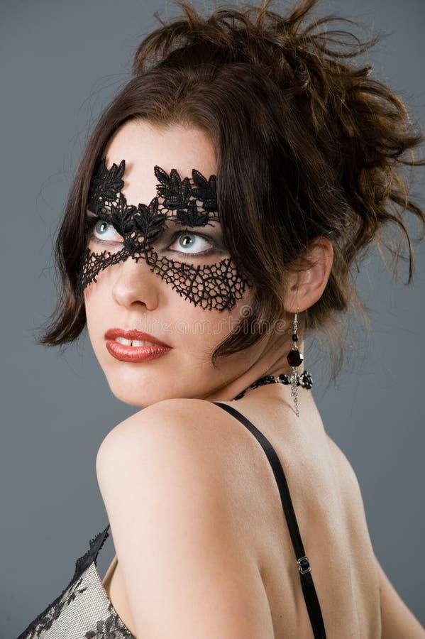 De make-up van Carnaval stock afbeeldingen