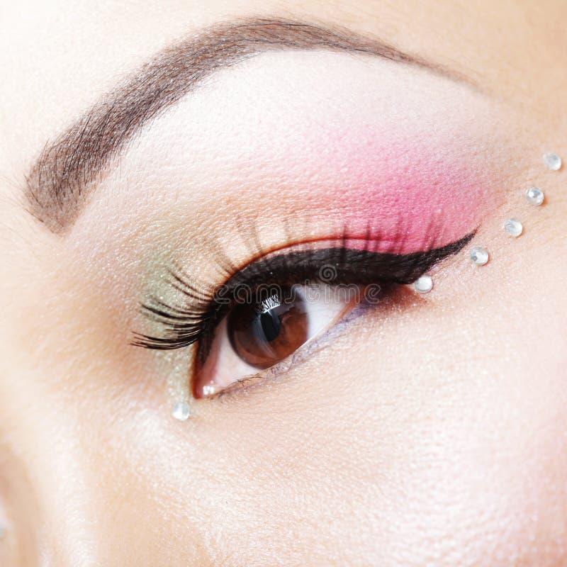 De make-up van de fantasie royalty-vrije stock afbeeldingen