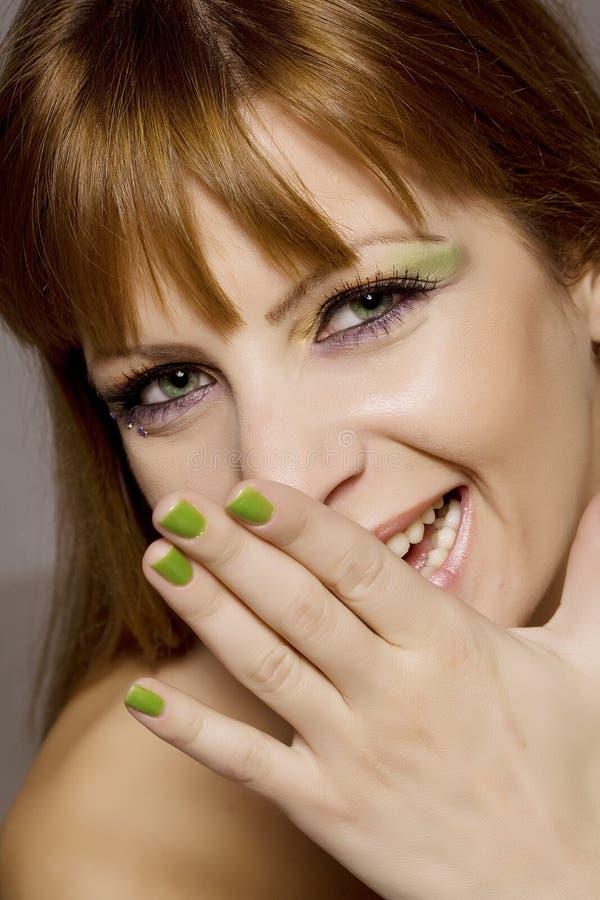 De make-up van de pret stock afbeeldingen
