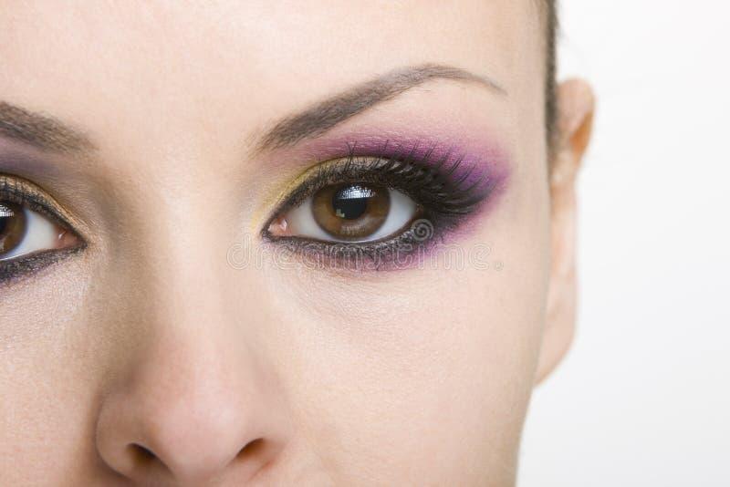 De make-up van het oog royalty-vrije stock afbeeldingen