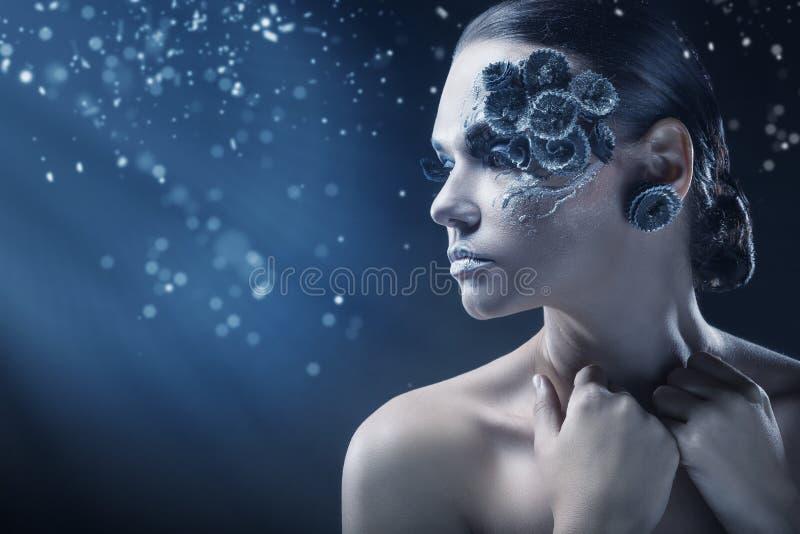 De Make-up van de manier stock foto