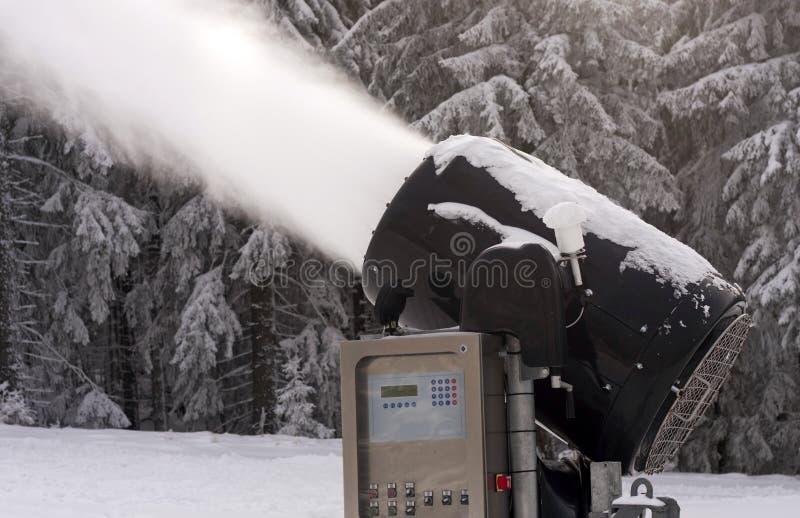 De maker van de sneeuw stock afbeelding