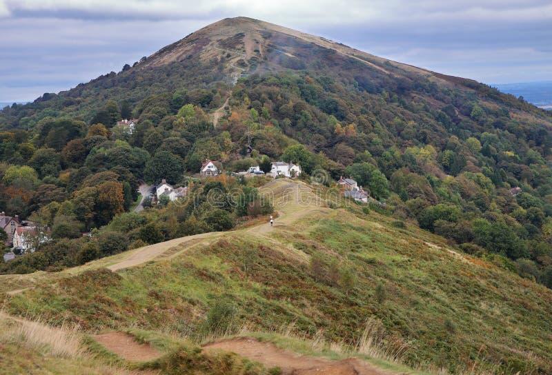 De Malvern-Heuvels in Worcestershire stock fotografie