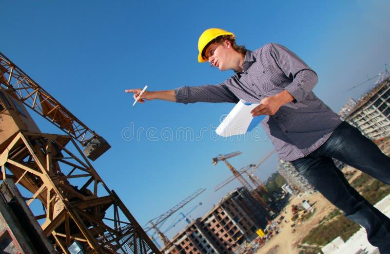 De Manager van de bouw royalty-vrije stock foto
