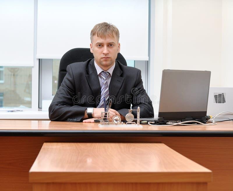 De manager van het bureau stock afbeeldingen