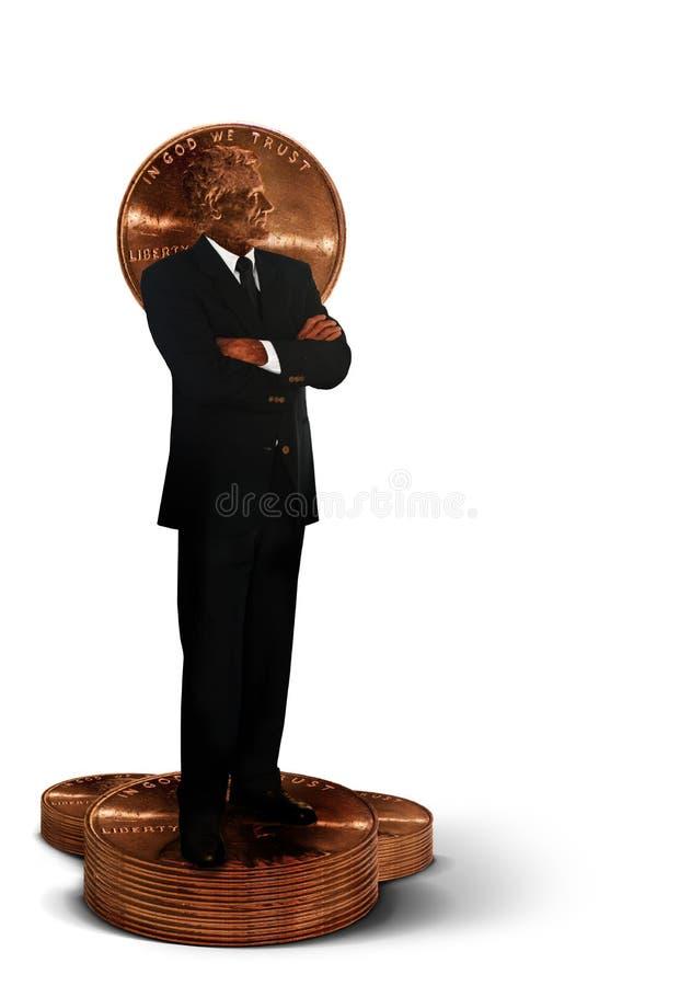 De manager van het geld royalty-vrije stock afbeelding