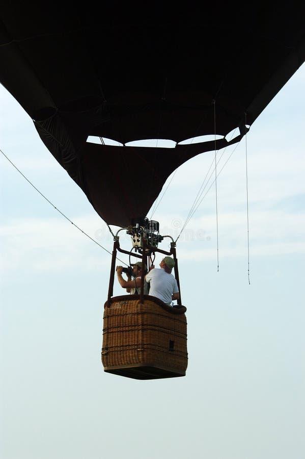De Mand Van De Hete Luchtballon Royalty-vrije Stock Afbeeldingen