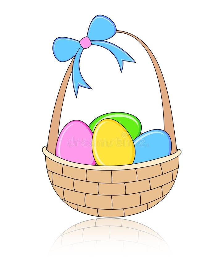 De mand van Pasen stock illustratie