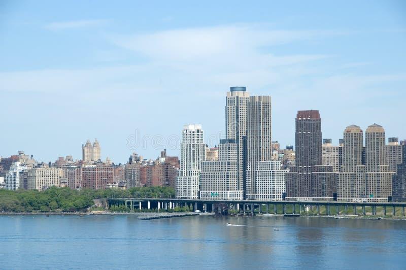 De Manhattan de la ville haute photographie stock libre de droits