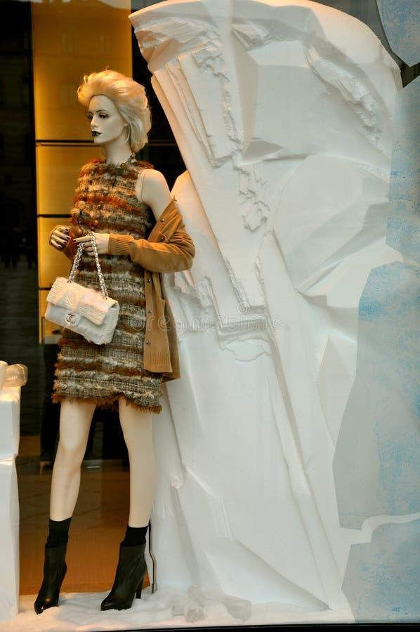 De manier 2011 van Chanel stock afbeeldingen