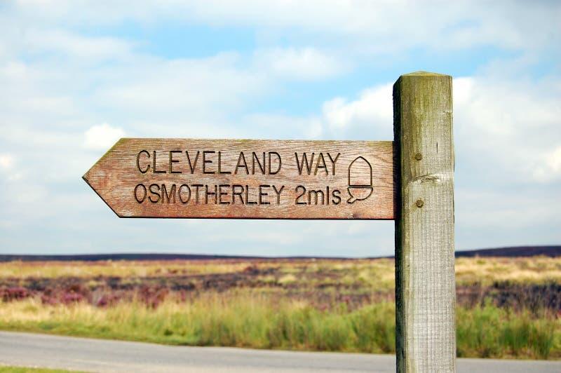 De Manier Osmotherley van Cleveland royalty-vrije stock fotografie