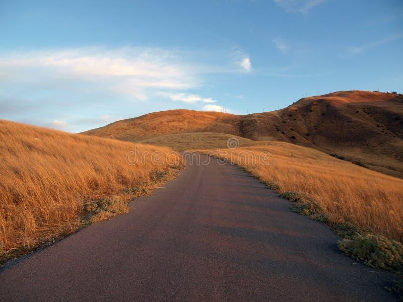 De Manier van de Berg van de roeispaan, Chatsworth Californië. royalty-vrije stock foto's