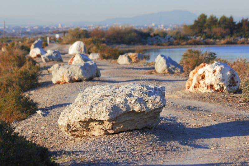 De manier van de steen stock fotografie