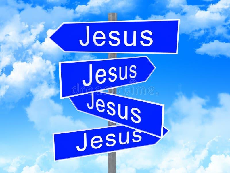 De manier van Jesus royalty-vrije illustratie