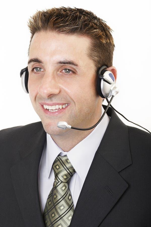De mannelijke klantendienst 2 royalty-vrije stock foto
