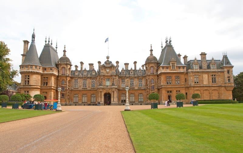 De Manor Engeland van Waddesdon royalty-vrije stock fotografie