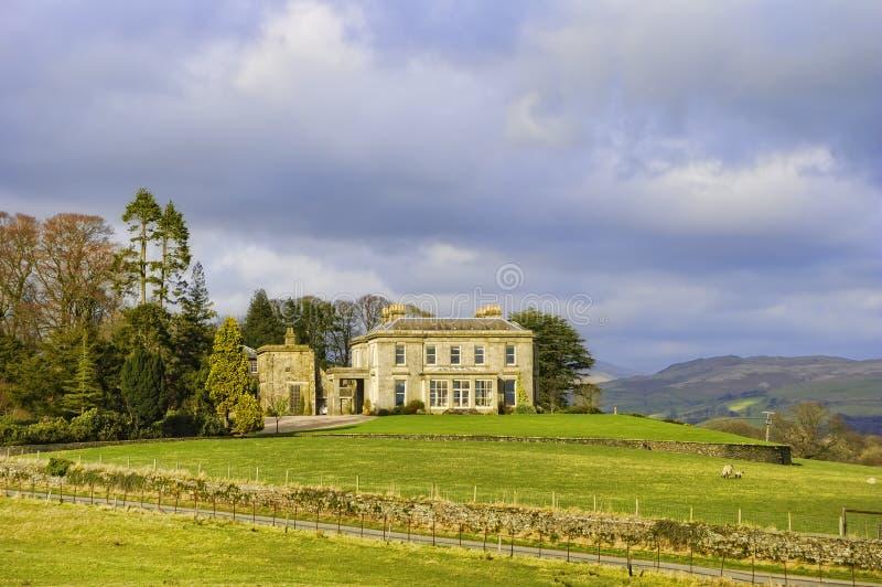 De manor van het platteland stock foto's