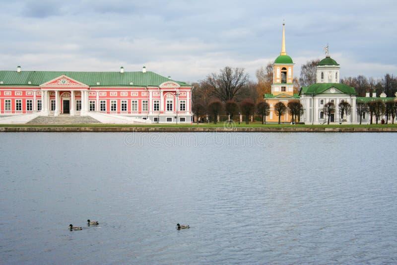De Manor van Kuskovo royalty-vrije stock afbeelding