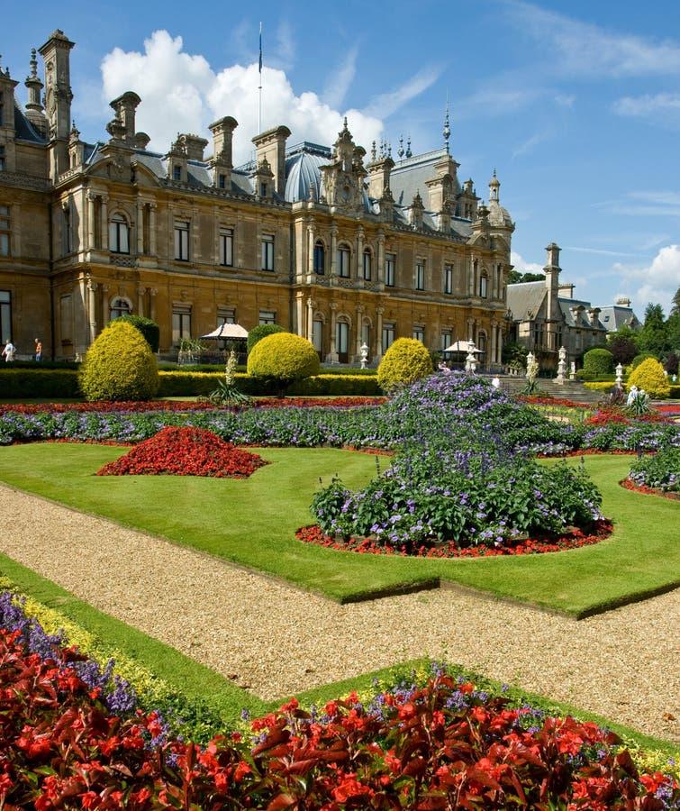 De manor van Waddesdon stock afbeeldingen