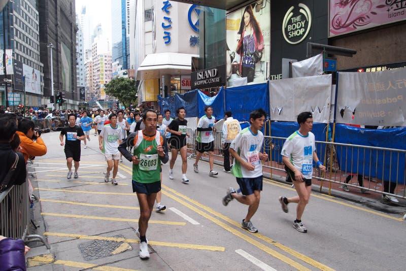 De Marathon 2011 van Hongkong royalty-vrije stock fotografie