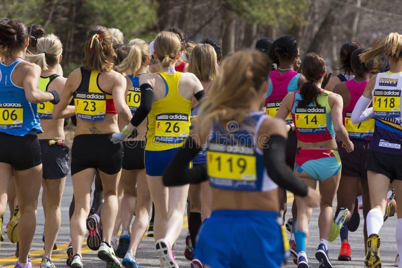 De Marathon 2013 van Boston stock foto