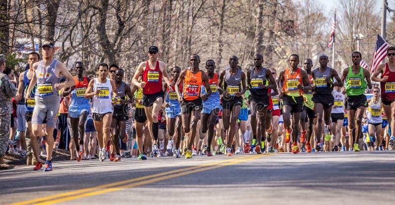 De Marathon 2012 van Boston royalty-vrije stock foto's