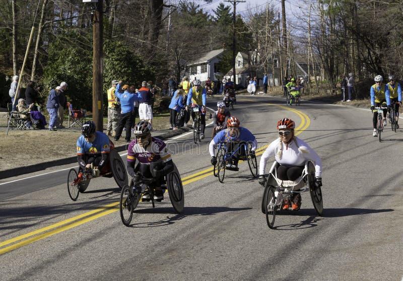 De Marathon 2014 van Boston royalty-vrije stock afbeelding