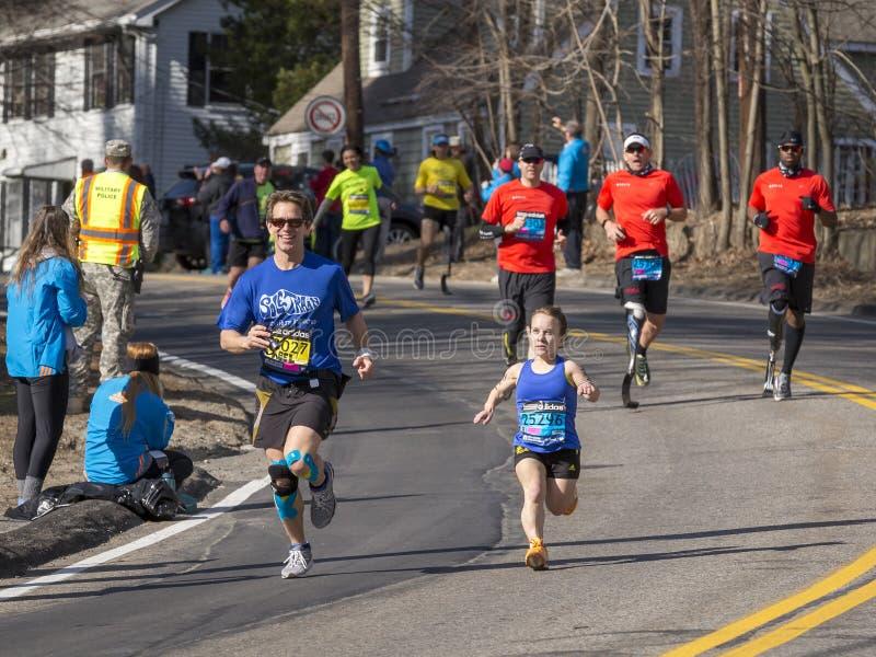 De Marathon 2014 van Boston royalty-vrije stock foto's