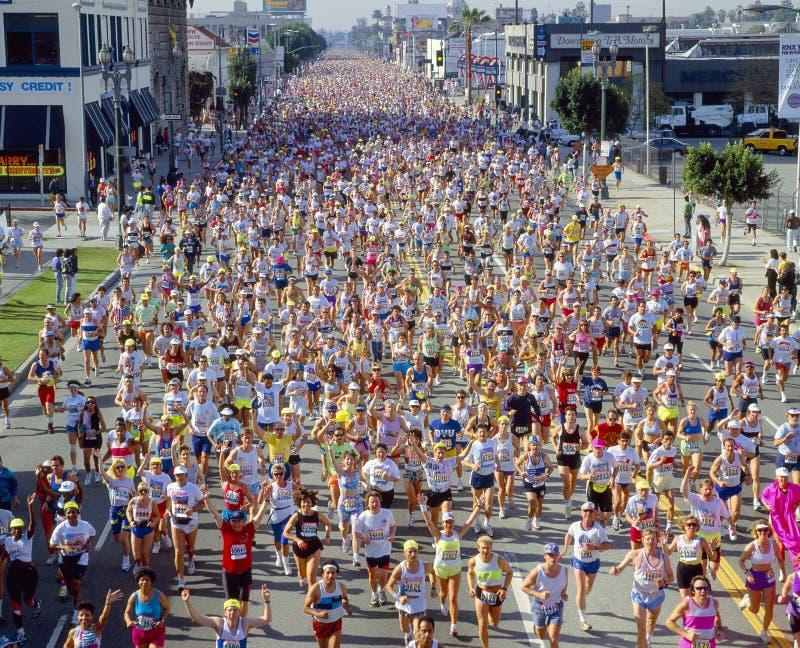 De Marathon van Los Angeles royalty-vrije stock foto's