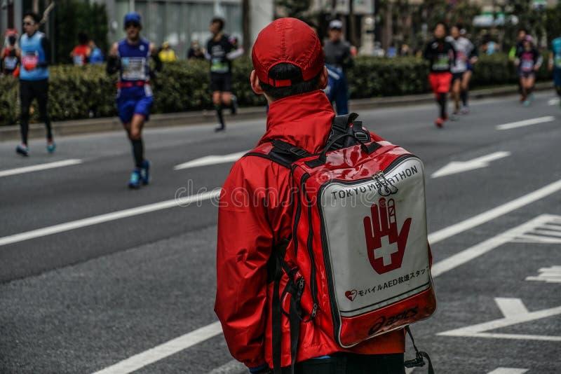 De Marathon van ziekenwagenkorpsen royalty-vrije stock foto's