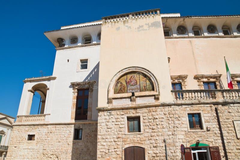 De Mari Palace Delle Fonti di Acquaviva La Puglia L'Italia fotografia stock