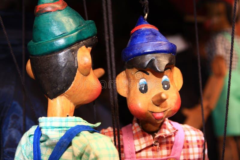 De marionet stock foto