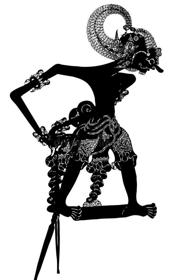 De Marionet van de schaduw: Vector