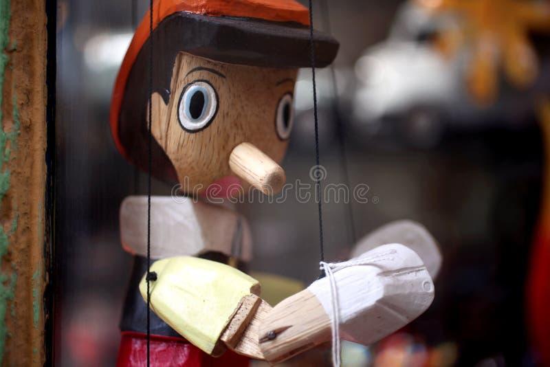 De marionet van Pinokio royalty-vrije stock foto's